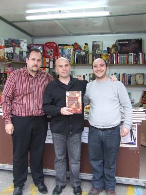Junto a Javier Negrete